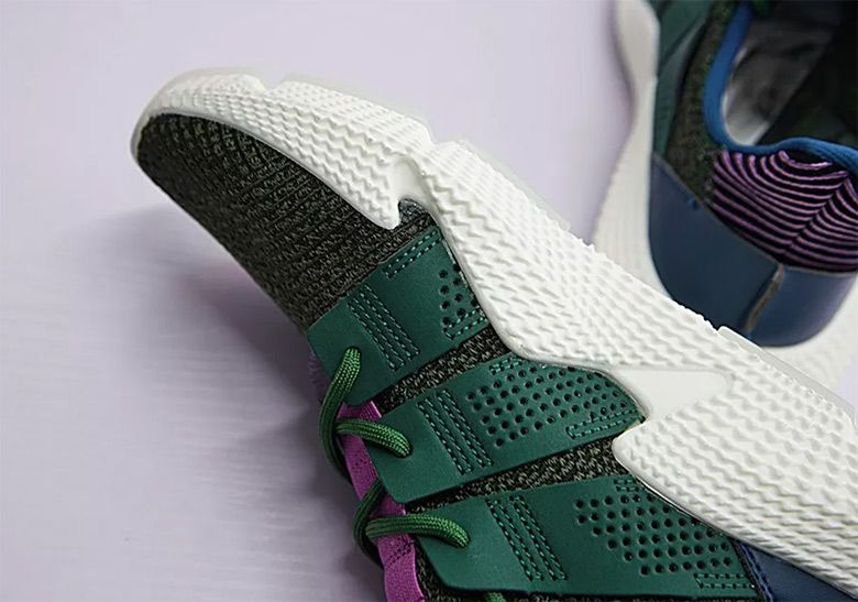 new style fc2d8 3a8fd First Look At The Cell x adidas Prophere From The Dragon Ball Z Pack