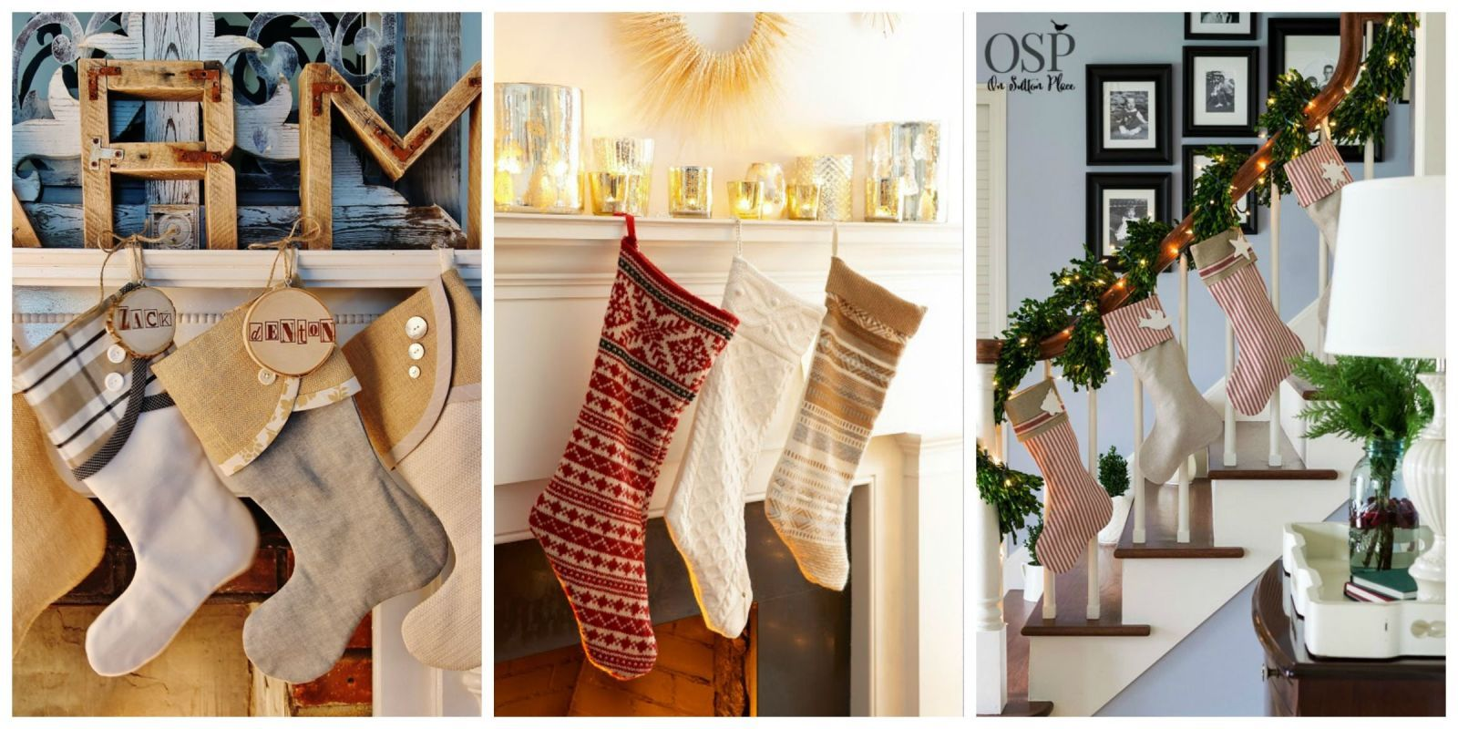22 Festive and Crafty Christmas Stockings Worth Stuffing  - CountryLiving.com