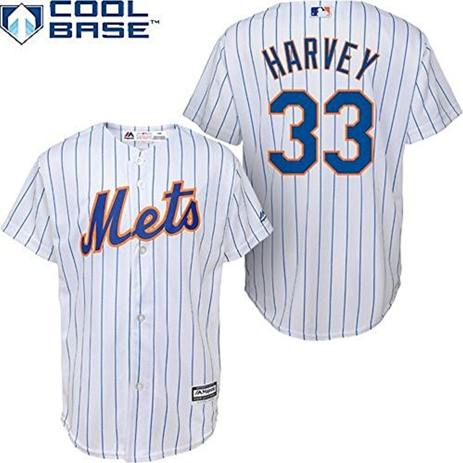 Matt Harvey New York Mets Mlb Majestic Youth White Home Cool Base Premier Stitched Jersey See This Great Prod New York Mets Robinson Cano Big Boys
