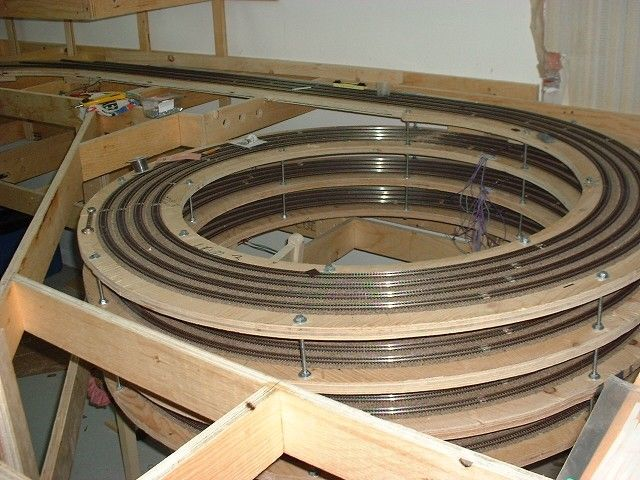 Threaded Rods Double As Vertical Spacers Model Railways
