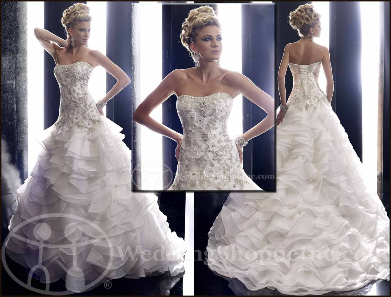 From House of Wu Designs: Christina Wu Wedding Gowns at Wedding ...