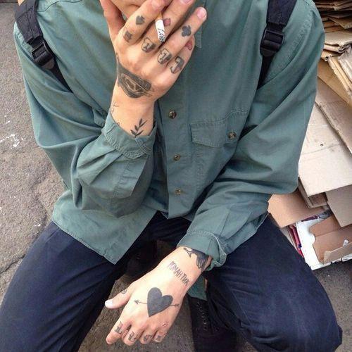 Grunge Aesthetic Tattoos Boy Tattoos Artist Aesthetic
