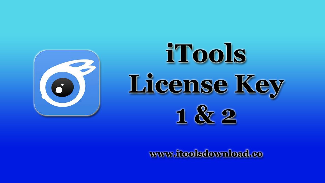 Using iTools License Key 1 and 2, As an iOS User | iTools