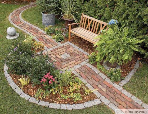 30 Stone Walkways and Garden Path Design Ideas Garden paths