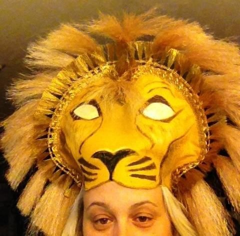 lion king costume by d sired images lion king pinterest roi lion lion et deguisement lion. Black Bedroom Furniture Sets. Home Design Ideas