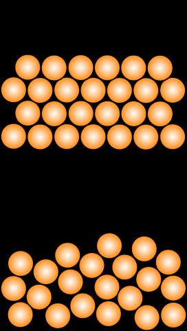Estructura Cristalina Estructura Tipos Y Ejemplos En 2019
