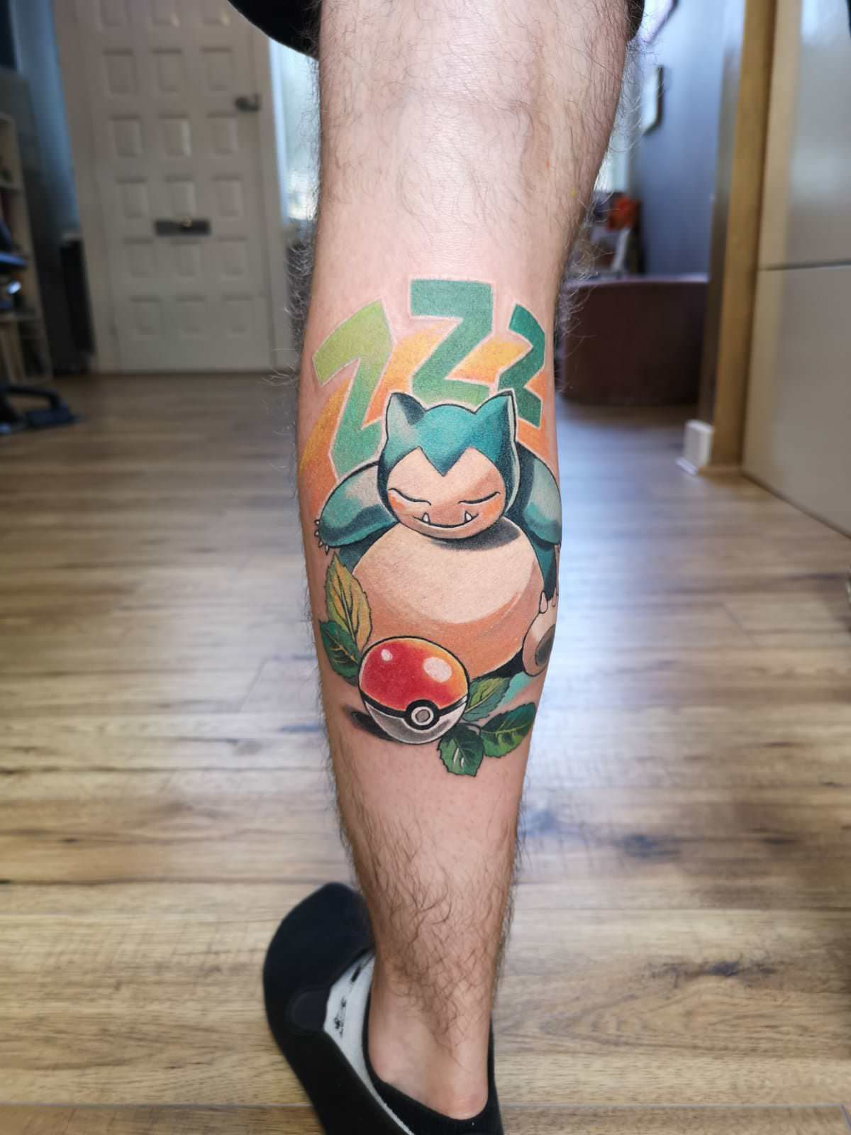I Got This Awesome Snorlax Tattoo A Couple Of Weeks Ago Pokemon