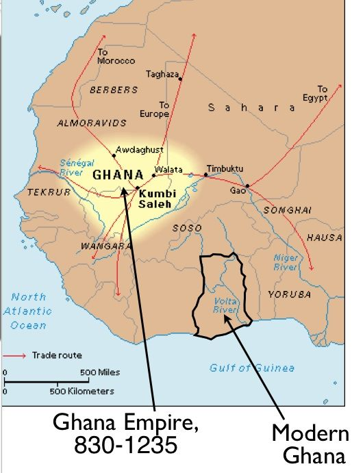Ghana Wagadu the earliest known empire of the western Sudan