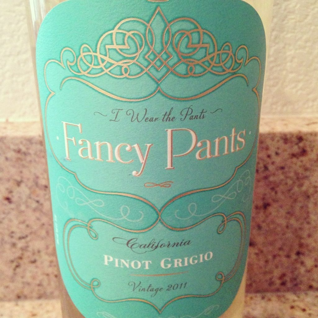 Fancy Pants wine we like this blue