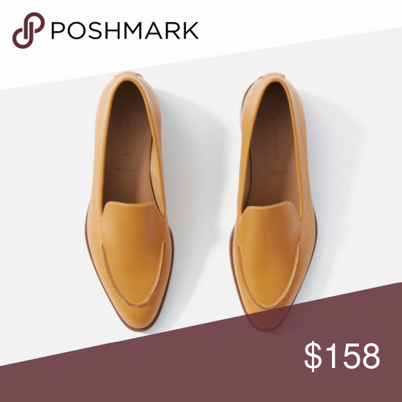 05f4ce490a9a5c NIB Everlane Modern Loafer Honey Sz 9 Sold out color! Brand new ...