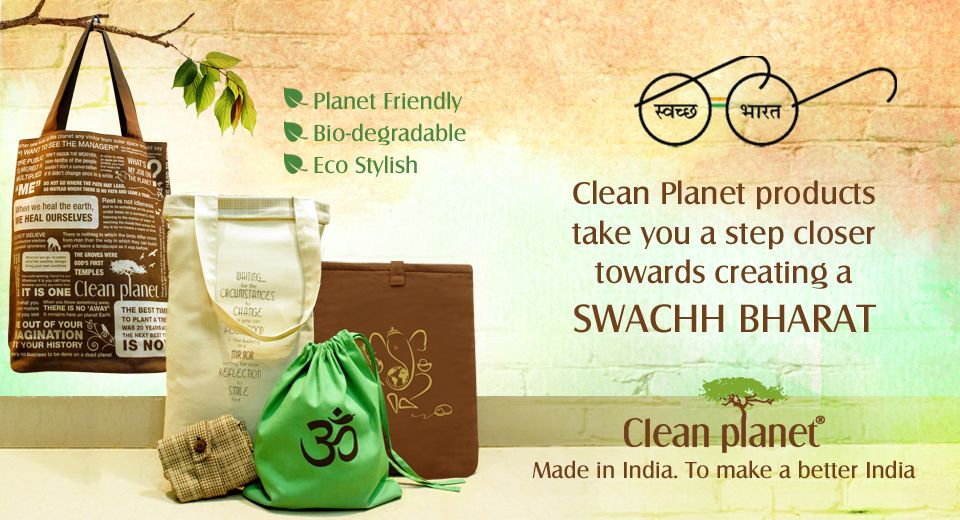 Shop eco-friendly totes from Clean Planet at www.fabulloso.com