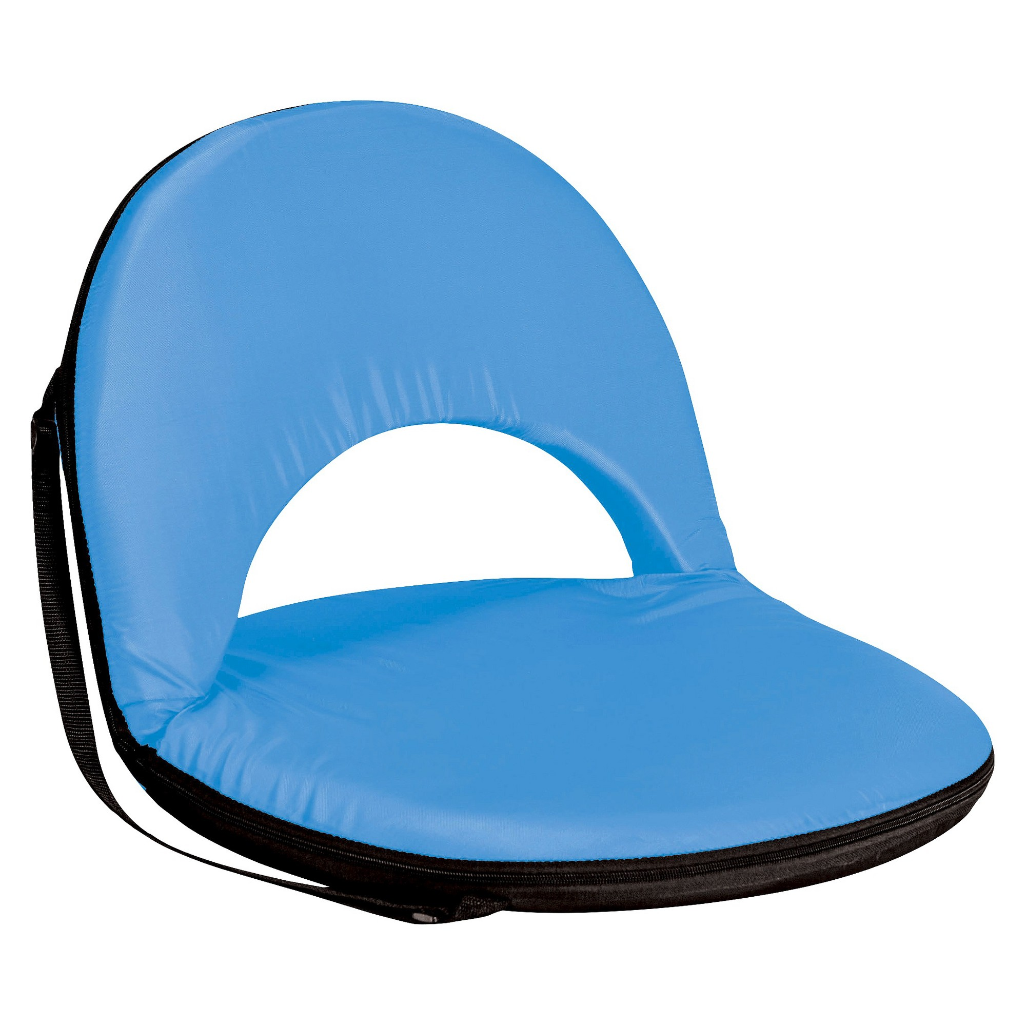 Picnic Time Metro Portable Reclining Seat Sky Blue