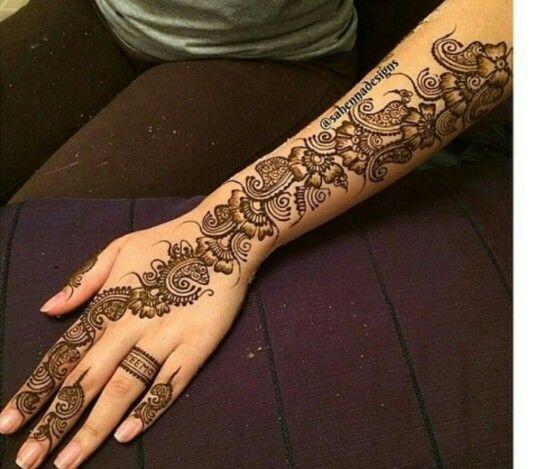 Mehndi Hands With Rings : Name henna ring tattoos pinterest hennas
