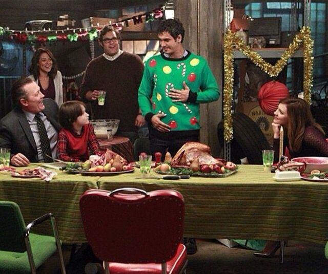 Scorpion Christmas - oh the ugly sweater that lights up lol