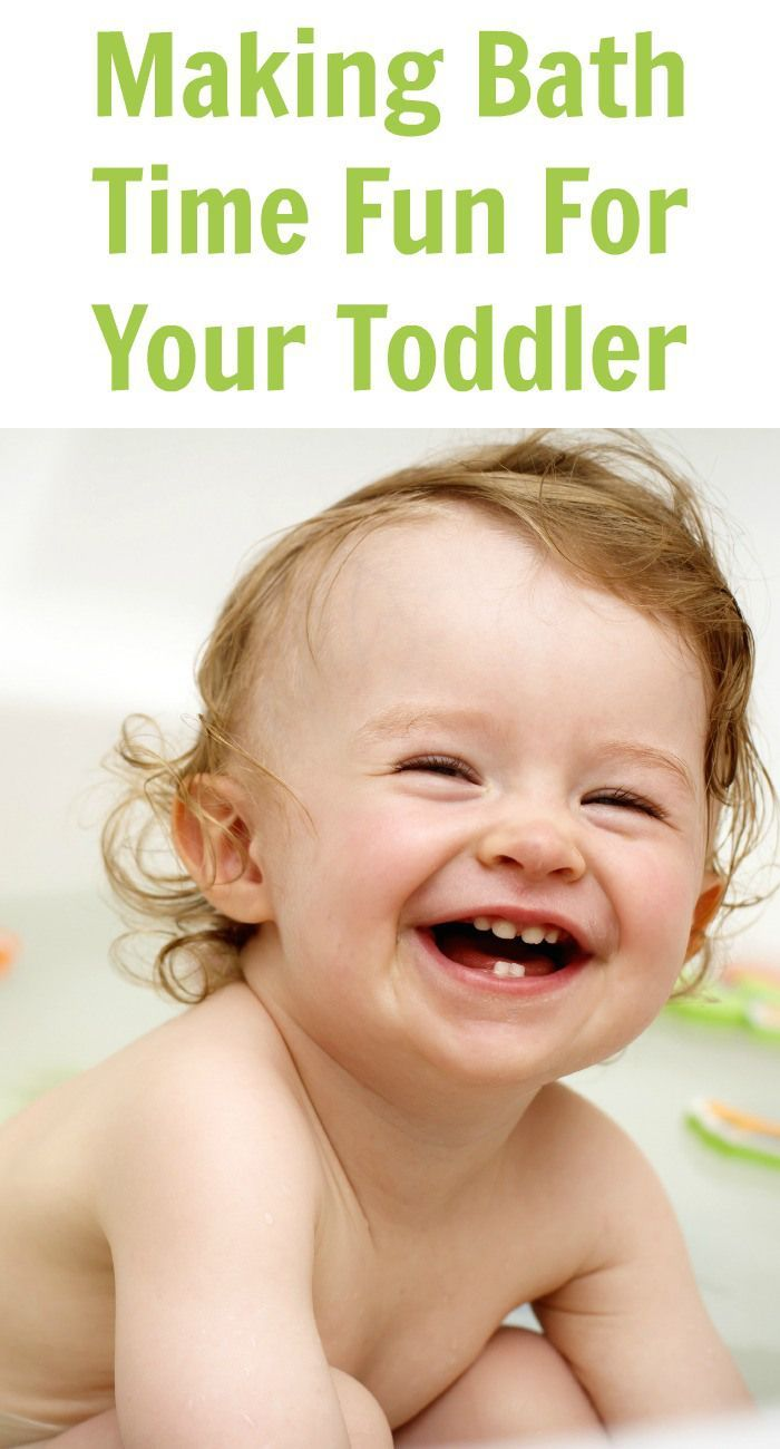 Making Bath Time Fun For Your Toddler