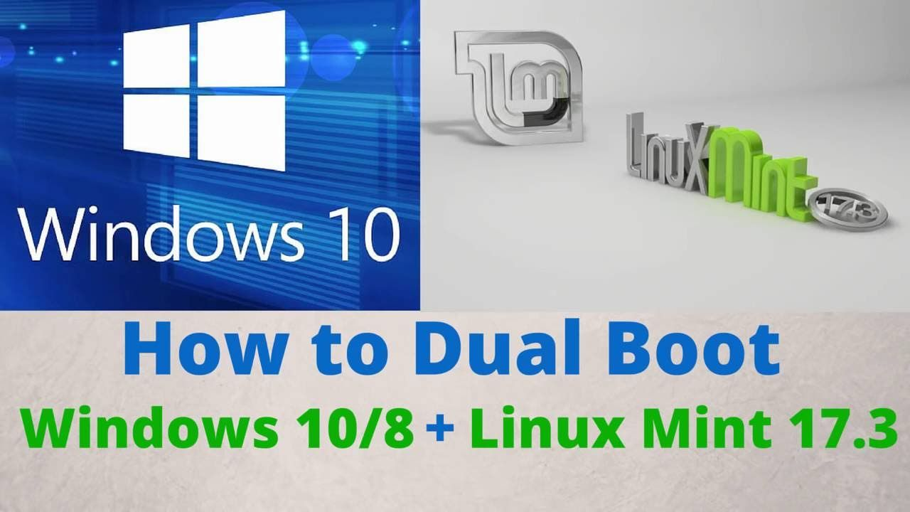 sale classic shoes first look How to Dual Boot Windows 10 /8 and Linux Mint 17.3 ...
