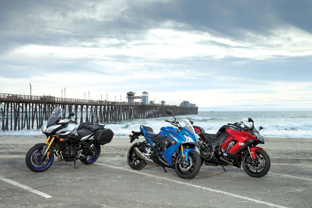 Kawasaki Ninja 1000 Abs Vs Suzuki Gsx S1000f Vs Yamaha Fj 09 Motos
