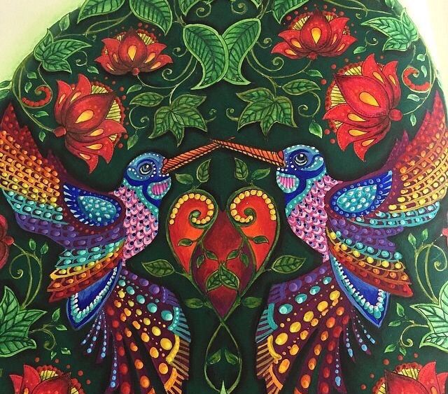 Inspirational Coloring Pages Por Elke Talone Encontra Este Pin E Muito Mais Em Humming Birds Secret Garden Beija Flores Jardim Secreto