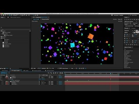 How To Animate Confetti W Trapcode Particular In After Effects