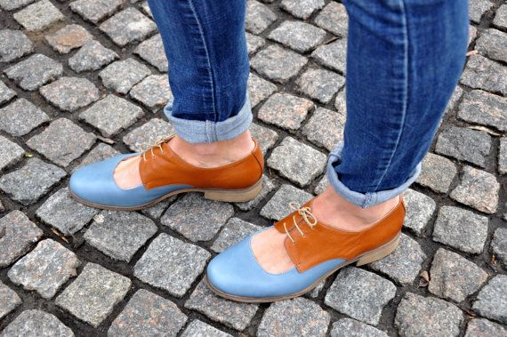 85182e32a1d1 Florence - Womens Leather Oxfords