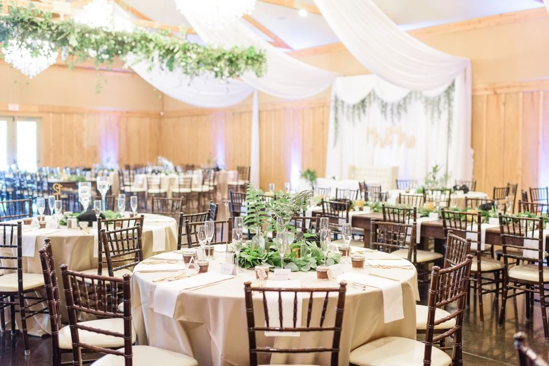 Ashley and David's reception was so beautiful! We love the ...