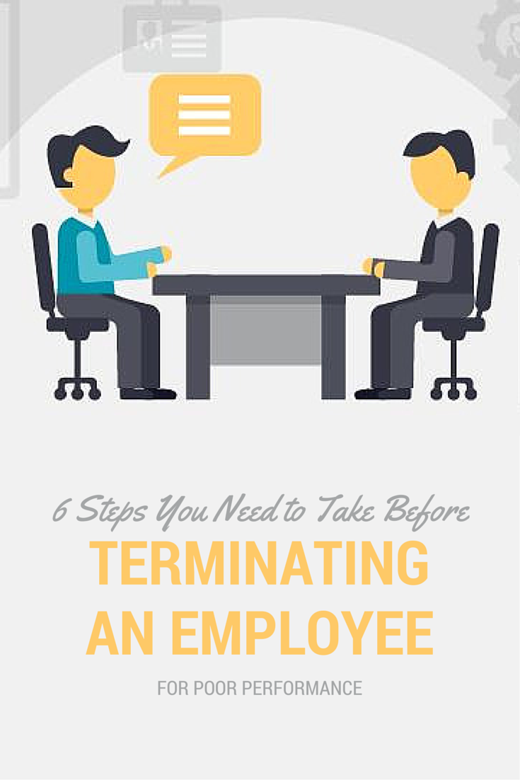 6 Vital Steps Before Terminating An Employee For Poor Performance Insperity Incentives For Employees Firing An Employee Laying Off Employees