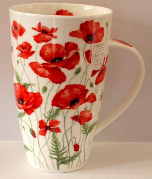 Dunoon Becher Tasse Form Henley Motiv Poppies R Amazon De Kuche Haushalt Becher Tassen Becher Tassen