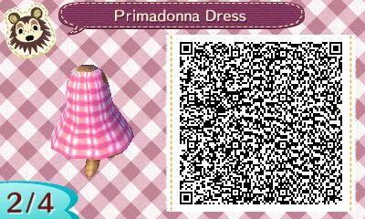 Primadonna Dress | QRCrossing.com