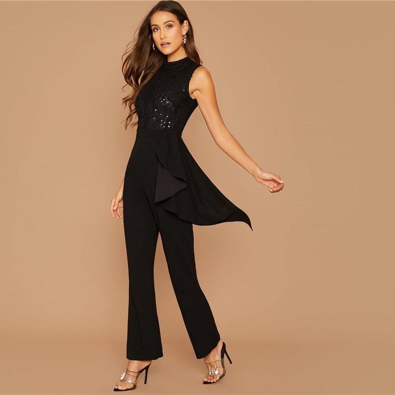 JEWELLED JUMPSUIT - Dresses - WOMAN   ZARA United States