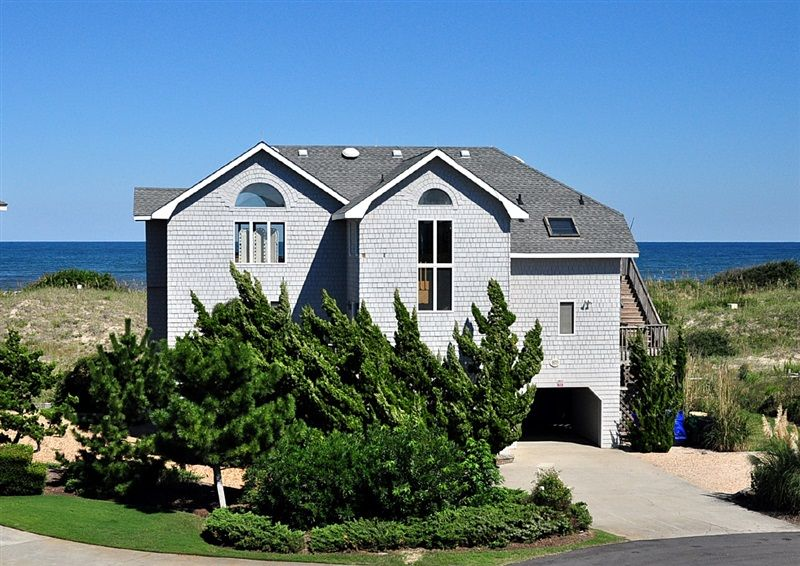 Twiddy Outer Banks Vacation Home Cloud 9 Corolla Oceanfront 6 Bedrooms For The Obx
