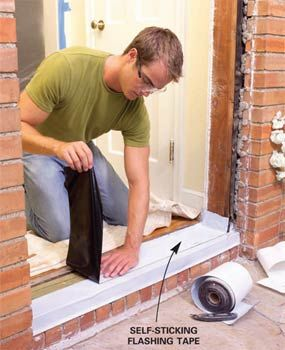 Diy Techniques For A Weathertight Exterior Door Installation Diy Home Repair Installing Exterior Door Diy Home Improvement