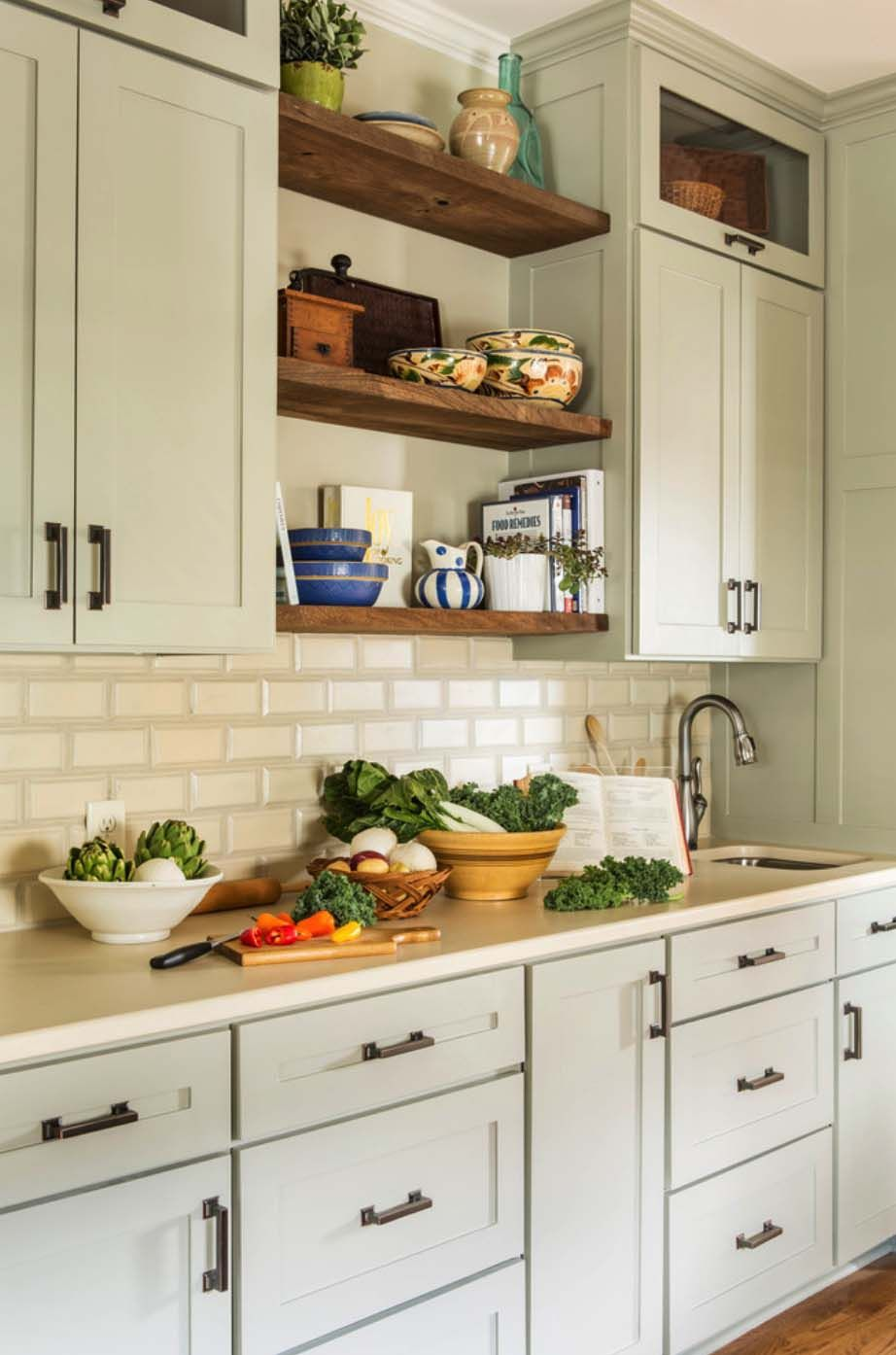 Charming Little Rock Residence Gets A Refreshing Eclectic Style Makeover New Kitchen Cabinets Rustic Kitchen Rustic Kitchen Decor