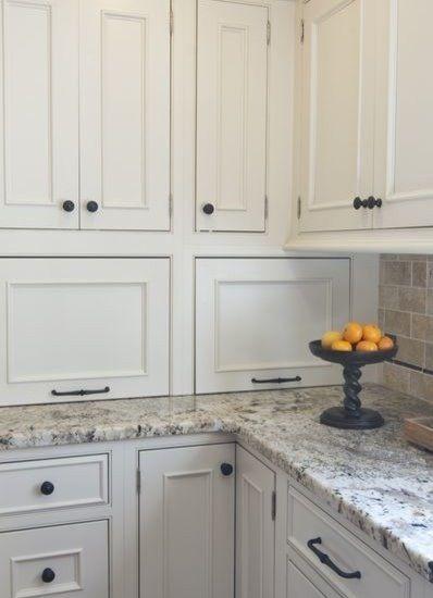 Idea for crone cabinet in kitchen