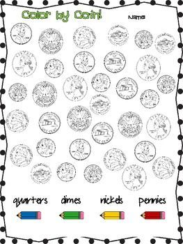 Counting Coins Math school, Money worksheets, Math classroom