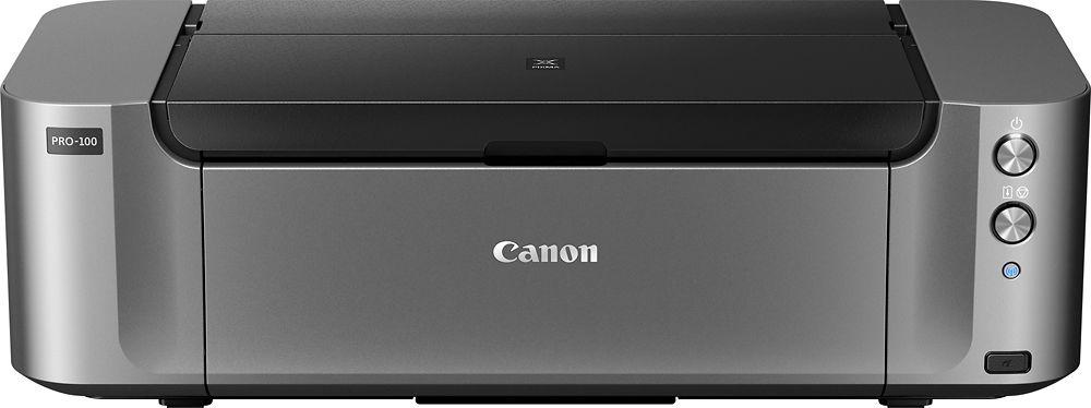 Canon pixma pro100 wireless inkjet printer black 6228b002