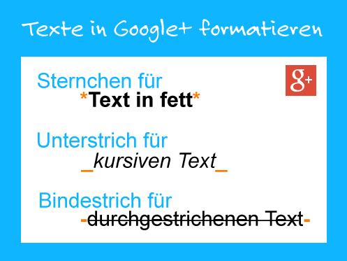 Paul Czichos – Google+ - Auf #google+ lassen sich #Texte jetzt #formatieren :…