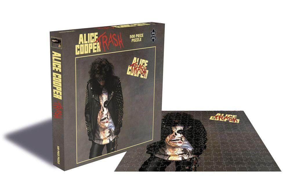 Photo of Alice Cooper Trash 500 Piece Puzzle