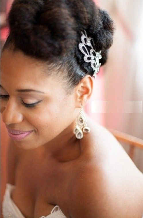 natural wedding hairstyles for black women | Natural ...