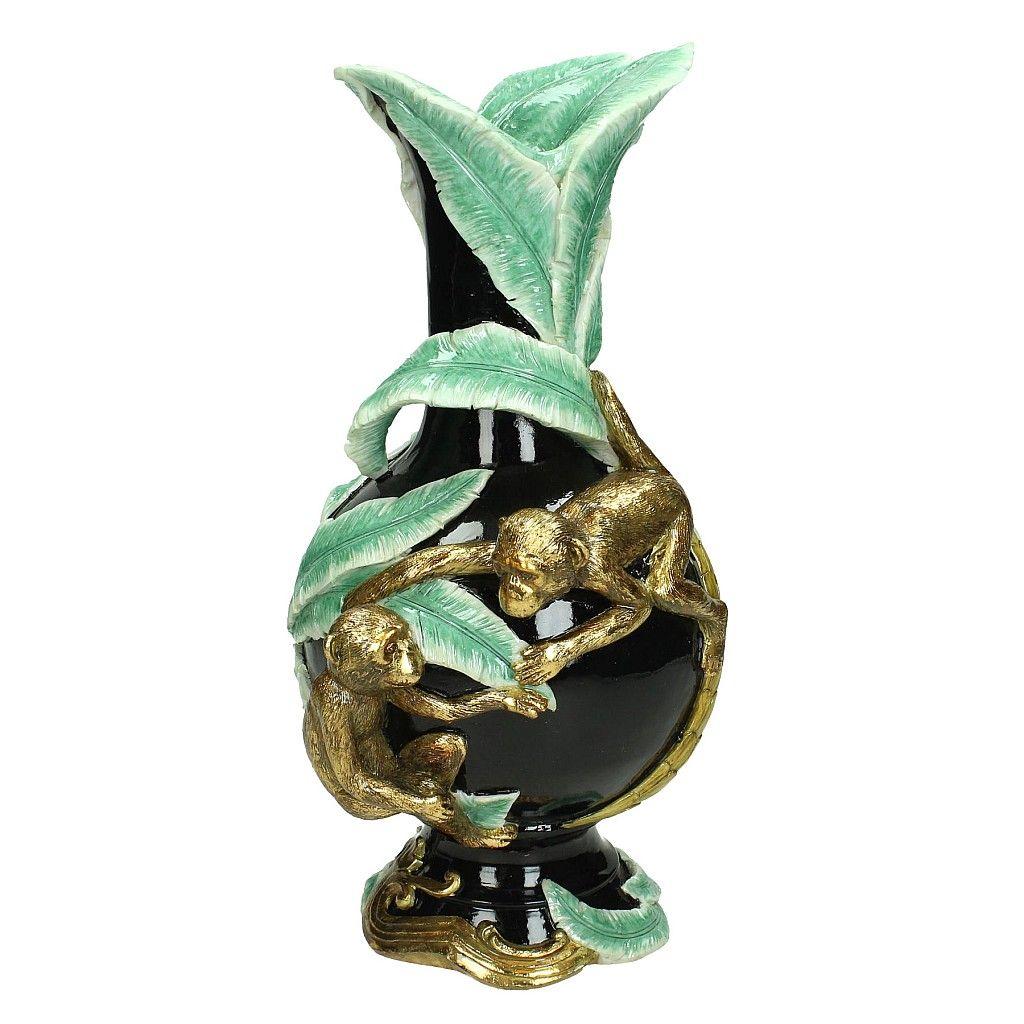 Ornate Marvellous Monkey Vase | Audenza
