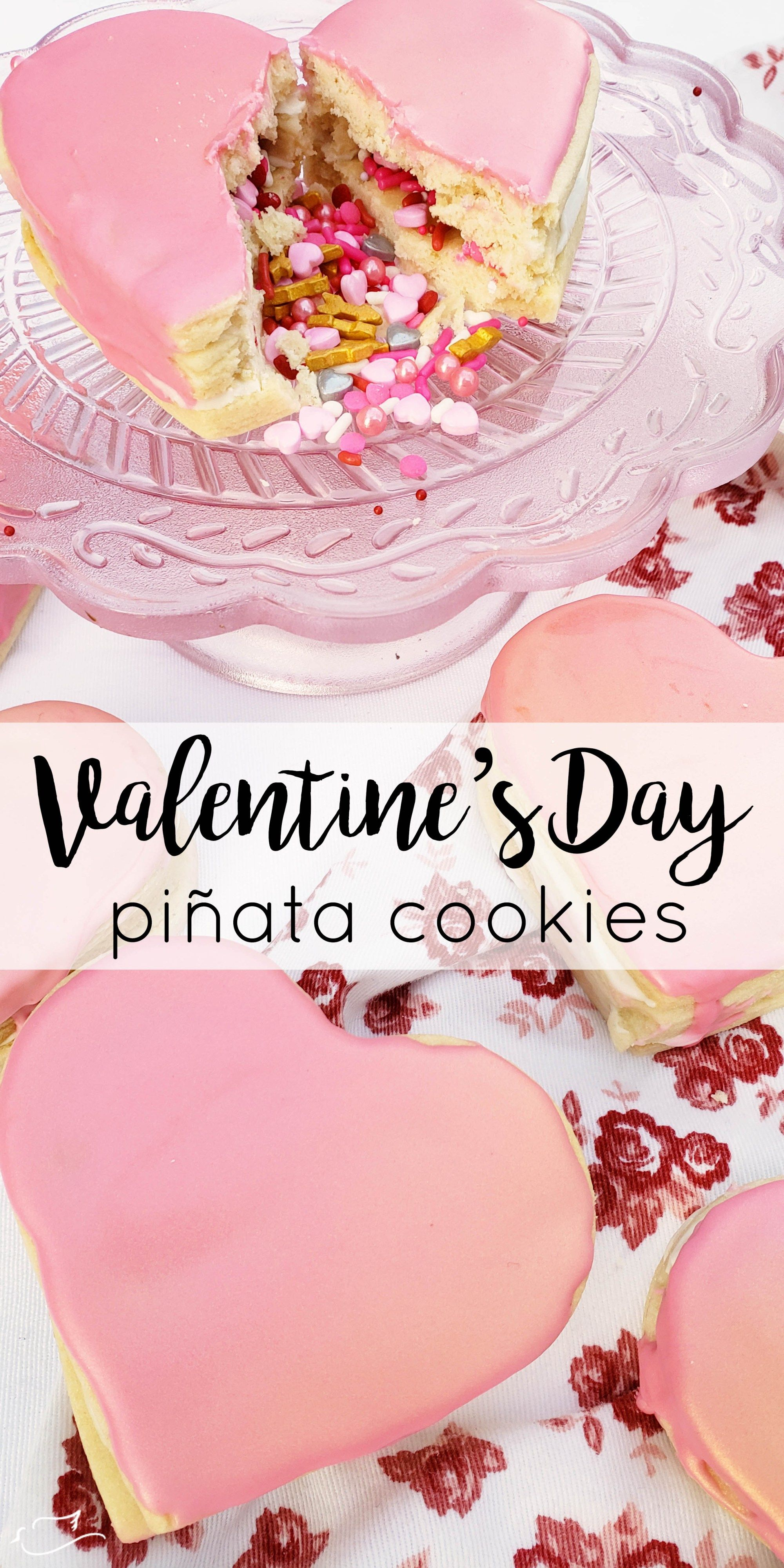 Photo of pinata cookies for Valentine's Day – Little Dove Blog