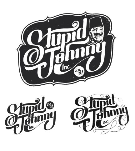 Type Works '12-'13 by Tim Praetzel, via Behance