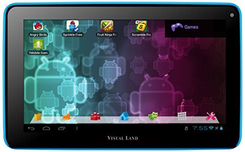 Visual Land Prestige 7-Inch Tablet with 8GB Memory (Blue)