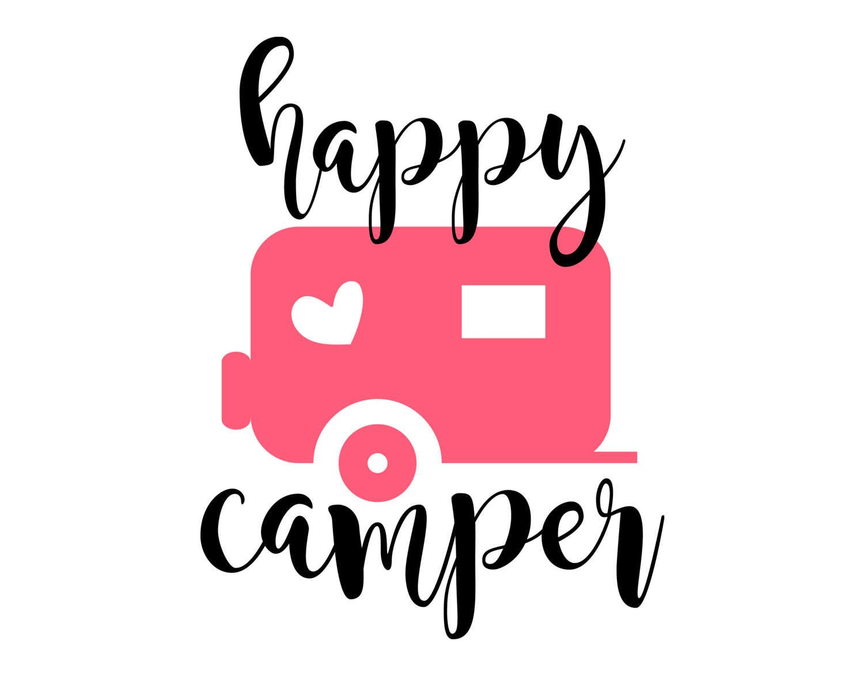 44 Happy Camper Valentine Gift Card Ideas Cricut, Svg
