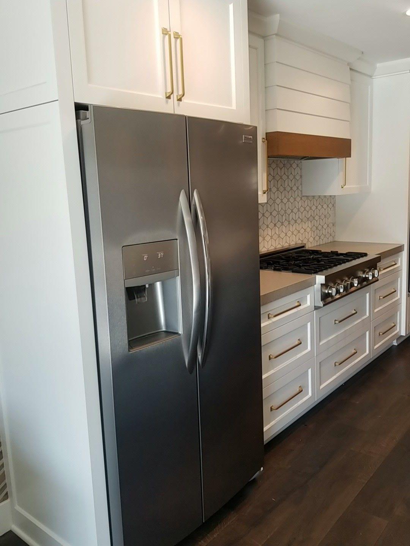 Frigidaire Gallery Fgsc2335tf Counter Depth In 2020 Kitchen Renovation Kitchen Interior Kitchen Cabinetry