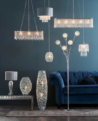 Buy Lucy 3 Light Linear Pendant From The Next Uk Online Shop Floor Standing Lamps Stylish Flooring Led Floor Lamp