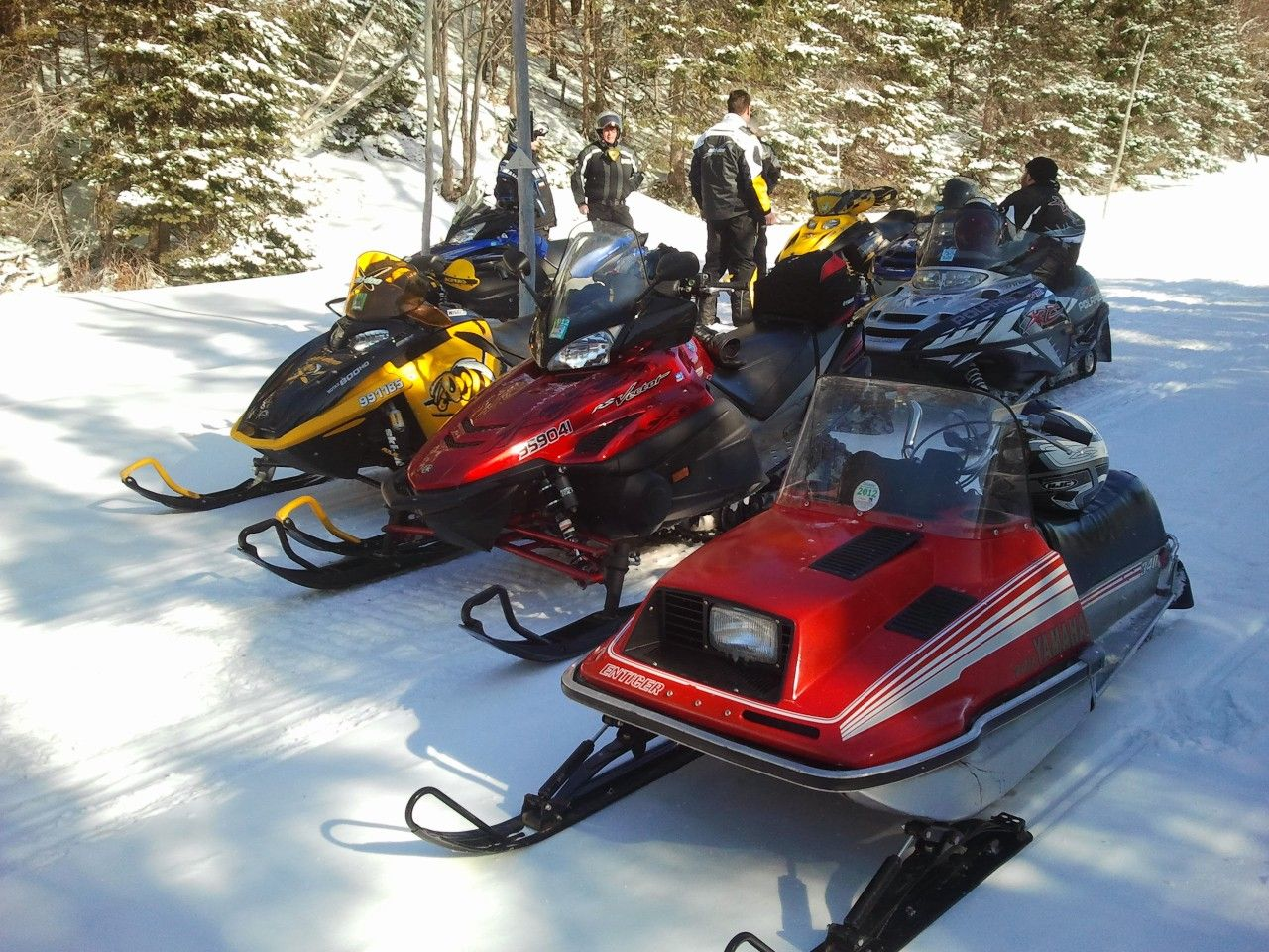 Ski whiz snowmobiles for sale - Enticer 340
