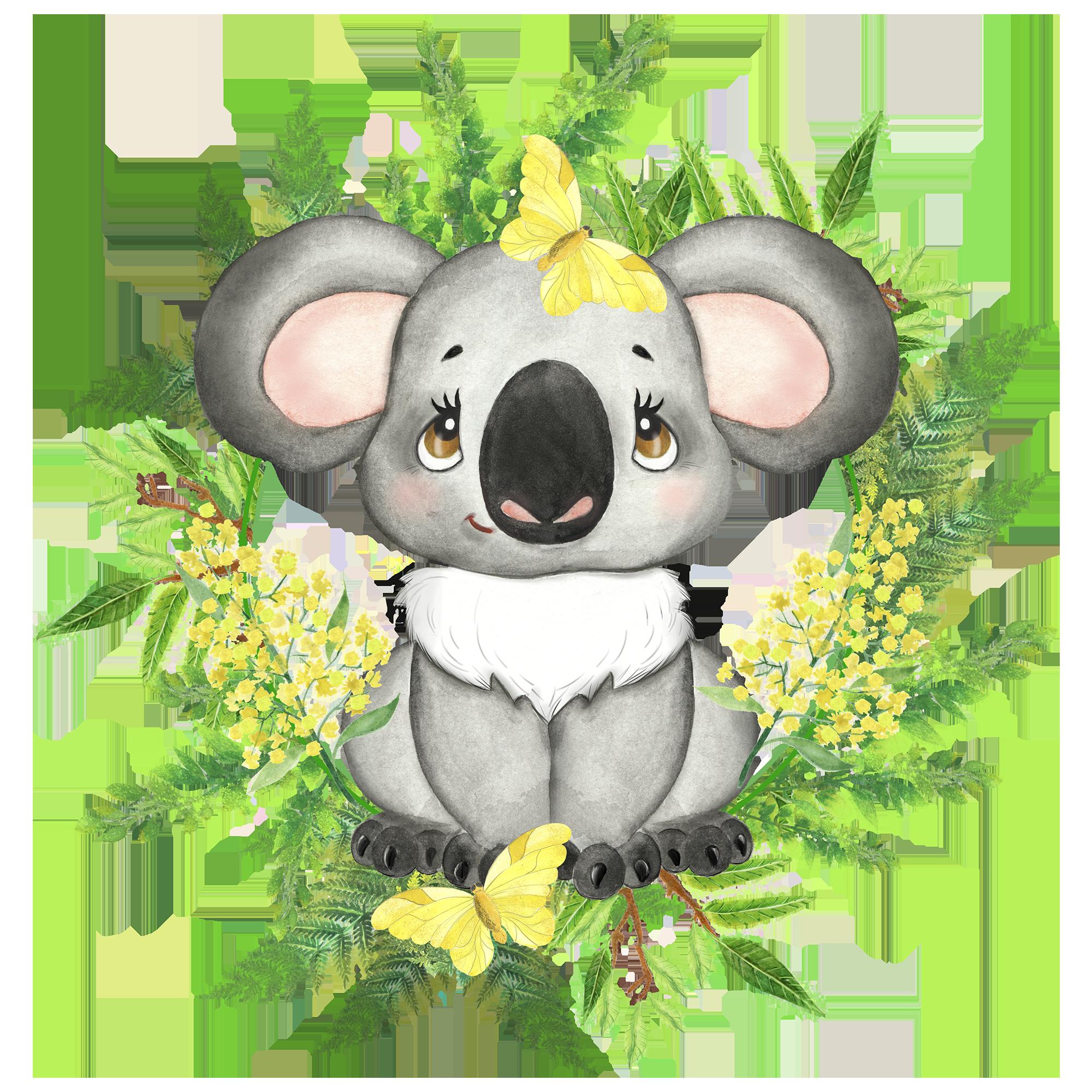 Australian Animals Clipart Koala Platypus Quokka Flowers Etsy In 2021 Animal Clipart Australian Animals Baby Animals