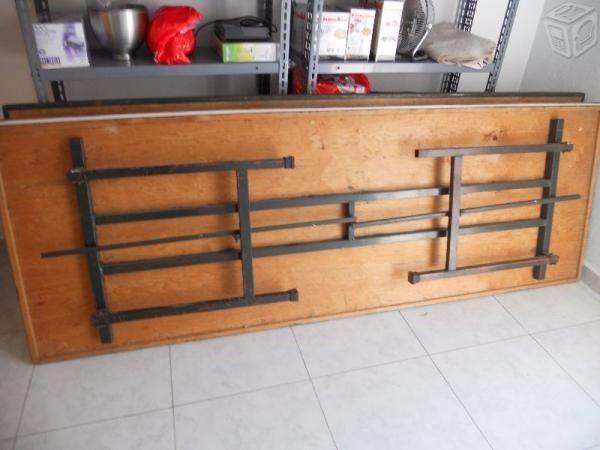 Vendo 3 tablones de madera de x 85 con alma y patas for Vendo muebles jardin