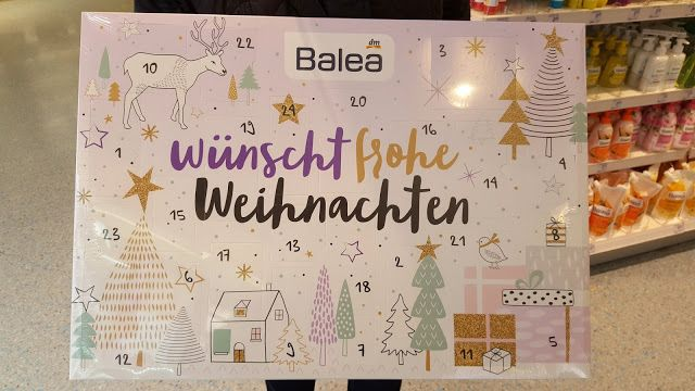 Inhalt Balea Adventskalender 2016 Balea Adventskalender Balea