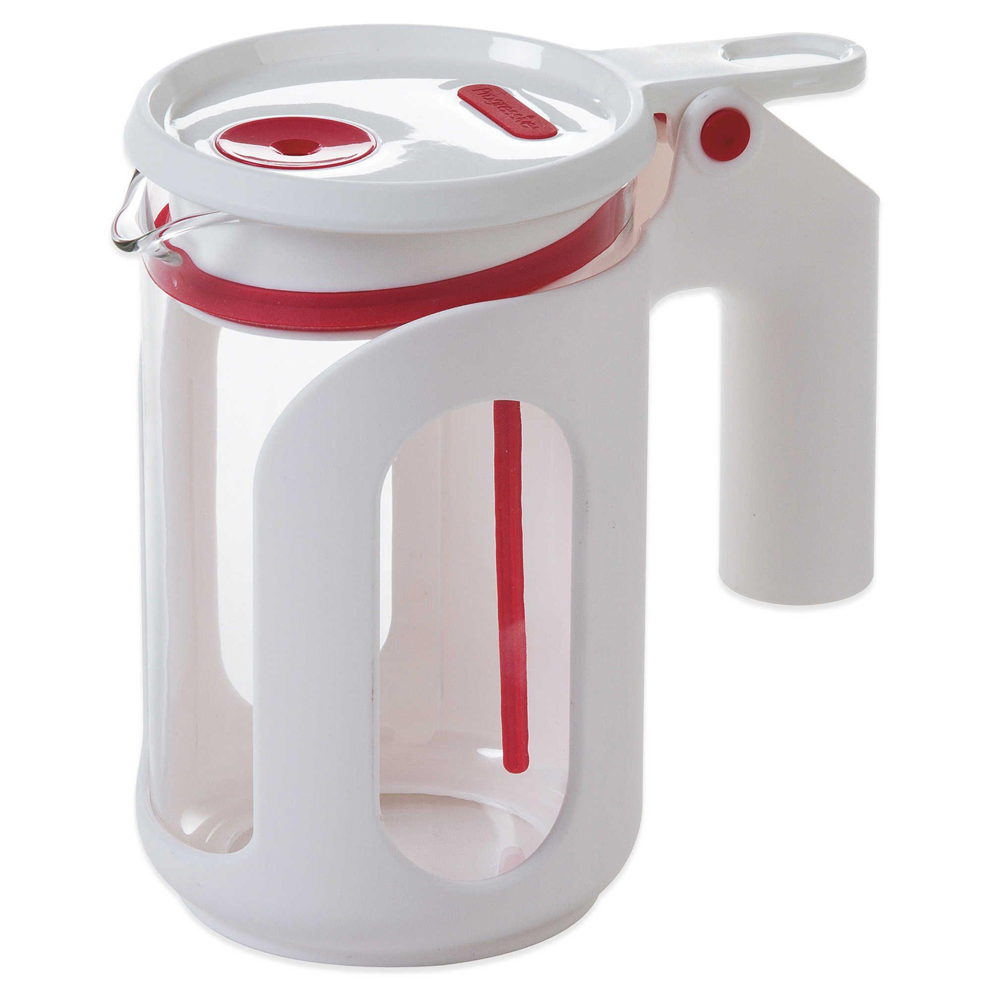 Progressive® 25 oz. Whistling Microwave Tea Kettle in Red